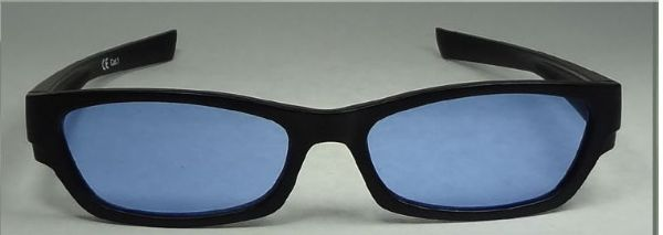 Blue glasses  suitable for age 10 upwards